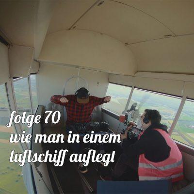 Wie man in einem Luftschiff auflegt